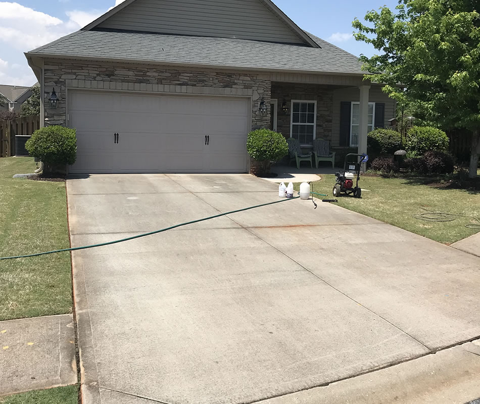 Pressure Washing Greenville SC